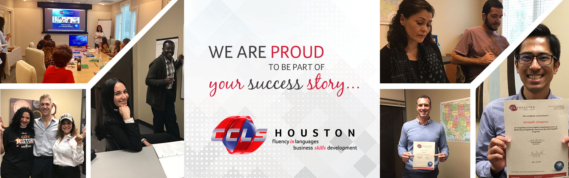 At CCLS Houston we are part of you