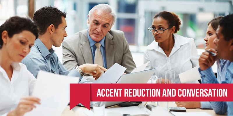 accent reduction and conversation